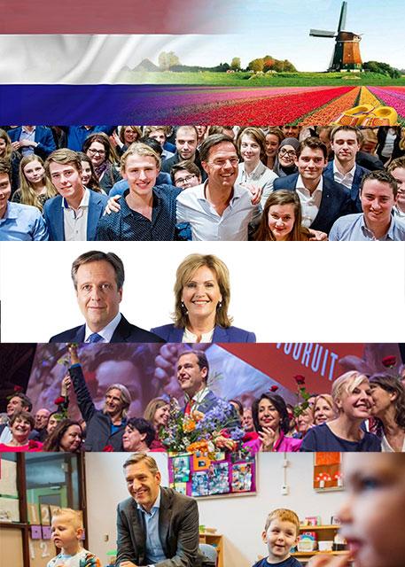 Is dit Nederland? Verkiezingscollage 2017, door Hilbert Kamphuisen